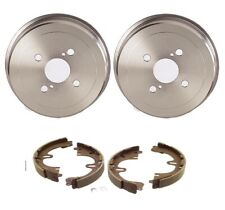 NEW Rear Brake Kit Drums and Shoes Set Brembo / Genuine For Geo Prizm 1993-1997