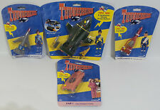 THUNDERBIRDS : THUNDERBIRD 1,2,3,4, MOLE & FAB 1 SOUNDTECH SET MADE IN 1999 (F)