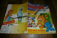 Rolf Kauka / BUSSI BÄR # 12 / 1988 -- Bastelbogen: WEIHNACHTSSCHMUCK