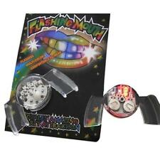 LED Light Up Flashing Mouth Guard Piece Festival Glow Tooth Quirky Party Toys LG