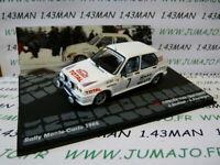 voiture 1/43 IXO Altaya Rallye : VISA 1000 pistes Monte Carlo 1985 Andruet #7