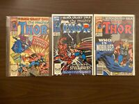 The Mighty Thor 420-422 High Grade Marvel Lot Set Run CL48-64