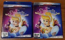 Cinderella Dreams Come True & A Twist in Time (Blu-Ray and DVD) - No Digital