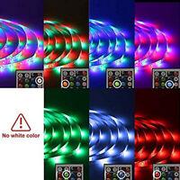 3528 RGB LED Tira Luces Cinta de cambio de color debajo de armarios Iluminación