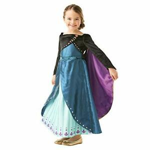 Rubie's Official Disney Frozen 2, Anna Epilogue Dress, Childs Costume, Size