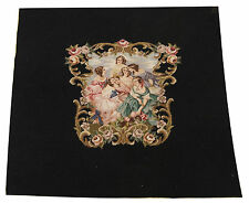 FR-0385-3-Arazzi  Aubusson Tepester Tapis  pechin 70x70 CM-Galleria farah1970