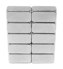 1/2 x 1/4 x 1/4 inch Neodymium Rare Earth Bar Magnets N48 (10 Pack)