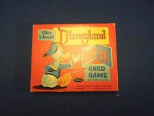 Vintage 1957 Walt Disney's Disneyland Donald Duck Card Game Deck of Cards