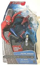 Spiderman 3 Peter Parker Quick Change Goblin Web Action Figure Hasbro 2007