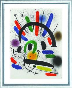 Joan Miro (1893–1983), O.T. (Eule in der Nacht), 1972 - Originallithographie