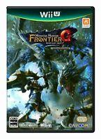 Nintendo Wii U Monster Hunter Frontier G Beginners Package Game Japanese Region