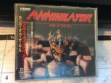 ANNIHILATOR - King Of The Kill APCY-8214 JAPAN IMPORT CD+OBI 1994