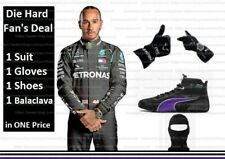 2020 f1 L.Hamilton SUIT Hamilton Shoes Hamilton Gloves Karting Suit karting shoe