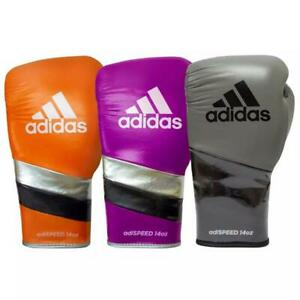 Adidas Adispeed Lace Boxing Gloves Kickboxing Sparring Gloves Training Gloves