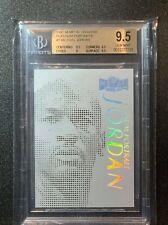 1997-98 Metal Universe Platinum Portraits #1 Michael Jordan Bgs 9.5 Pop24