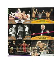 TOPPS WWE WWF 6 RIC FLAIR WRESTLING CARDS BORN IN MEMPHIS TENNESSEE