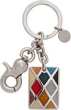 Paul Smith Keyring - Signature Multi Coloured Harlequin Key Ring/BNWT/RRP:£80