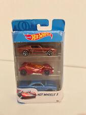 Pack de 3 voitures hot Whells