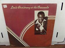 Louis Armstrong at the Crescendo MCA Records MCA2-4013 33rpm 081616DBE