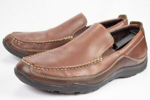COLE HAAN Mens Size 12M Tucker Venetian C08038 Brown Tan Leather Slip On Loafers