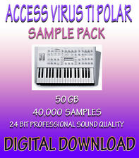 ACCESS VIRUS TI POLAR SAMPLES FOR APPLE LOGIC PRO EXS-24 + WAV FORMATS *DOWNLOAD