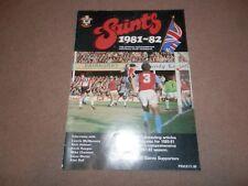 Saints 1981 1982 Official Yearbook Southampton FC Kevin Keegan Alan Ball