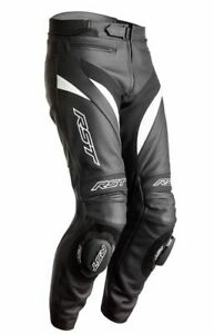 RST 2358 Tractech Evo 4 CE Leather Motorcycle Motorbike Jean - Black/White