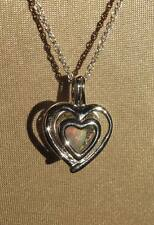 Sweet Welo Opal 925 Silver Hearts Pendant Necklace by Stunning Stones