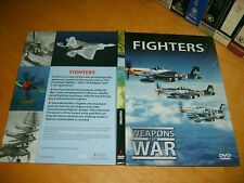 Book & Dvd *FIGHTERS - Weapons of War* 2007 Rare Unique Publication Doccumentary
