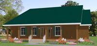 Custom House Home Building Plans 3 bed Split Ranch 2000sf---PDF FULL PERMIT SET