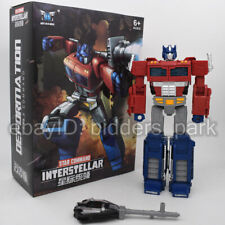 Transformers H6002-10A Optimus Prime Interstellar Siege War Cybertron Figure toy