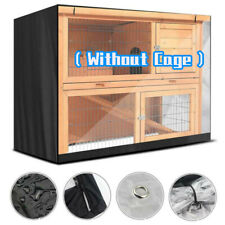 Rabbit Bunny House Ferret Chicken Coop Pet Hutch Cage Enclosure with Cover Roof