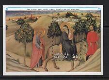 ANTIGUA & BARBUDA MNH 1987 MS1148 CHRISTMAS