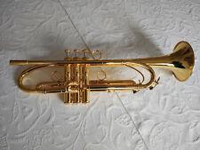 Trompete in B 24K vergoldet
