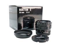 Ex-Demo Voigtlander 35mm f1.4 Nokton E-Mount Lens