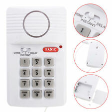 2018 Wireless Door Alarm for Shed Garage Caravan Security Keypad Alarm UK
