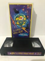 The Wiggles VHS Its a Wiggly Wiggly World ABC for Kids Video Tape 2000