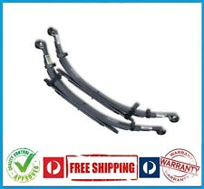 HOLDEN RODEO RA 4X4 03-08 REAR RAISED LEAF SPRINGS - 300KG - CONSTANT - PAIR