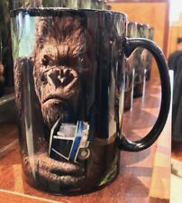 Universal Studios Exclusive King Kong 360 3-D The Ride Ceramic Coffee Mug New