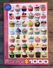Eurographics Jigsaw Puzzle Cupcake Celebration 1000 Pieces Complete