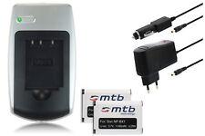 2x Batterie + Chargeur NP-BX1 pour Sony Cyber-shot DSC-H400, HX400V