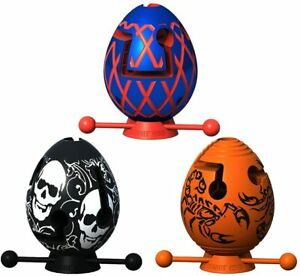 Smart Egg Labyrinth Puzzle 1 Layer 3-Piece Set for Kids as a Gift for Easter NEW
