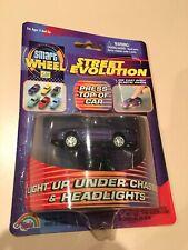 98-02 Purple Pontiac Firebird Trans Am WS6 Light Up Diecast Car TA 1:64 Die Cast
