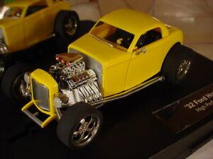 Carrera '32 Ford HotRod Yellow 27200 MB 1/32 slot car