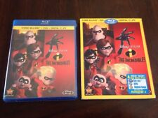 The Incredibles Disney Pixar Blu-ray/Dvd 4-Disc Set Digital New Sealed Slipcover