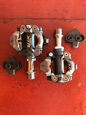 SHIMANO PD-M970 XTR clipless Mountain Bike pedals With Cleats SPD
