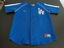 MATT KEMP Los Angeles DODGERS NIKE Youth MEDIUM Jersey MLB Blue FREE SHIPPING