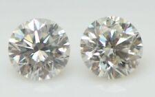 0.55 TCW CVD / HPHT H-I Color SI 4.15mm LAB GROWN DIAMOND STUDS