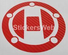 Adesivo Tappo Serbatoio SUZUKI GSX-R600 2004-2011 (Carbonio Rosso) Cod.0504