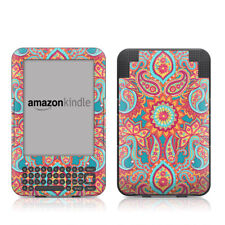 Kindle Keyboard Skin - Carnival Paisley by Carol Van Zandt - Sticker Decal